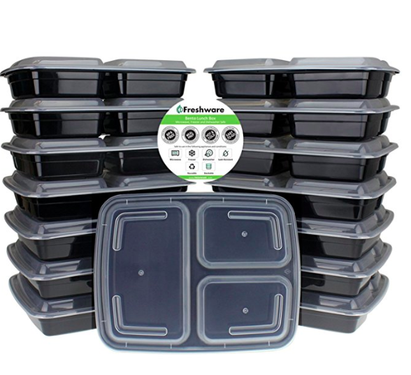 quick keto lunch meal prep container