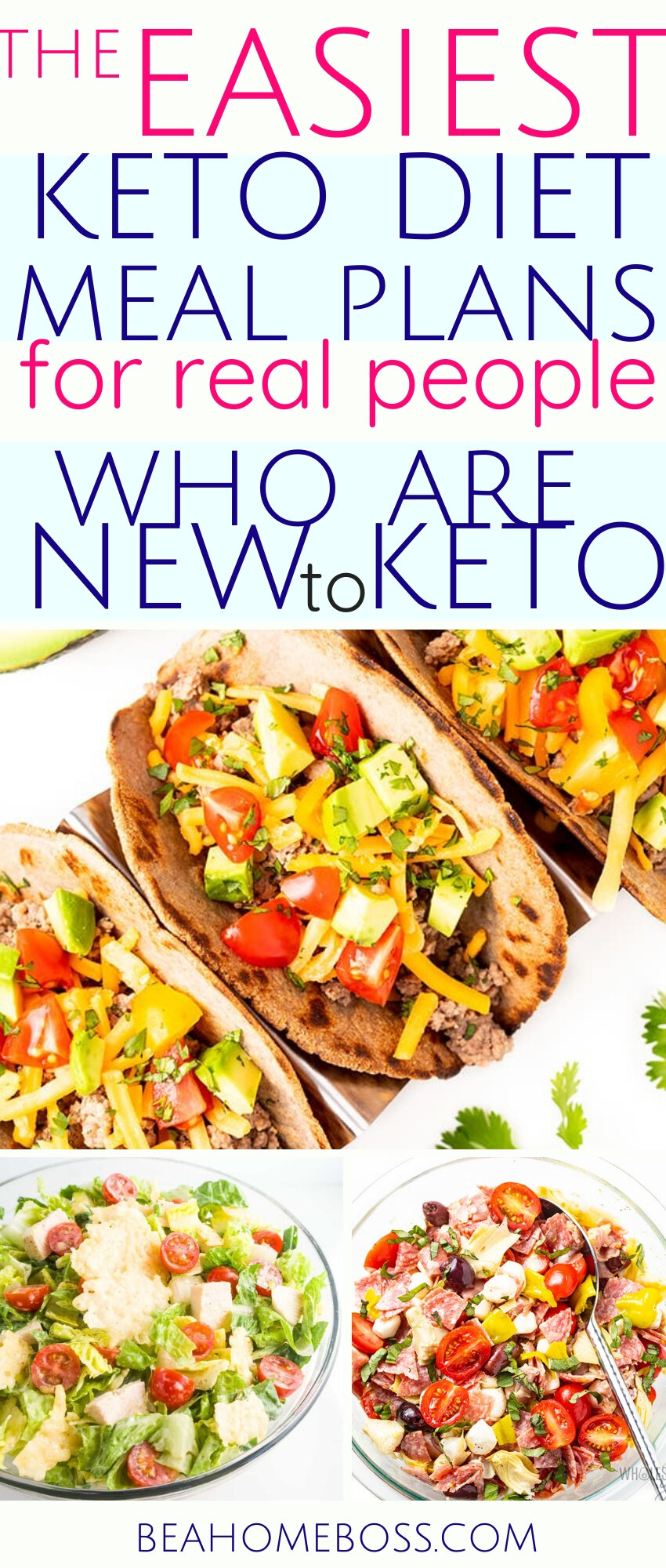 The Only And Easiest Keto Meal Plan You Will Need To Lose Weight Home Boss