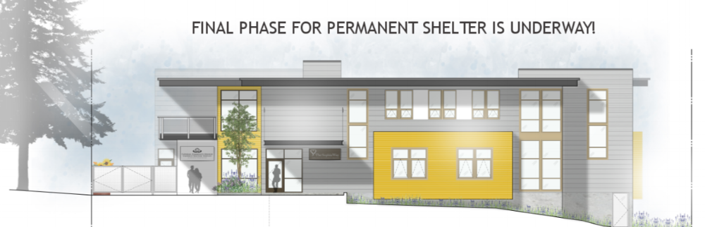 FINAL PHASE FOR PERMANENT SHELTER IS UNDERWAY!