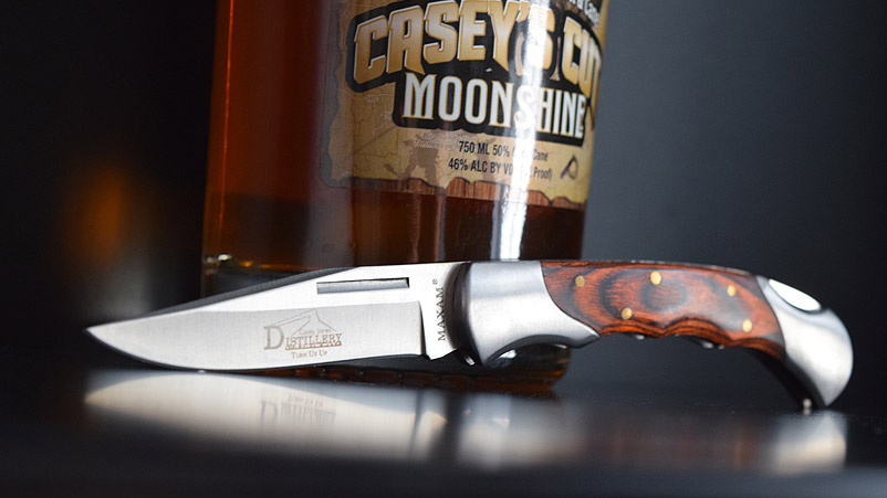 Casey's Cut goes perfectly with a Casey's Cut wooden-handled knife.