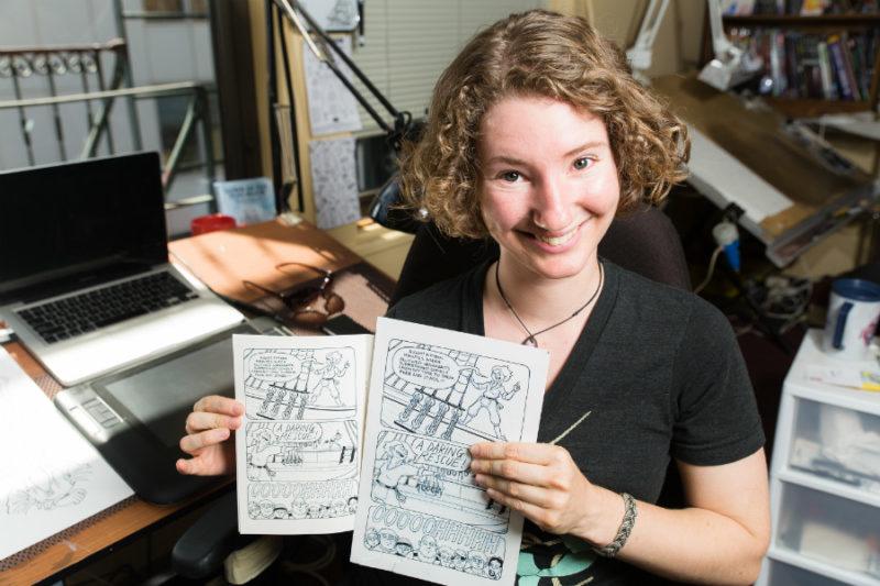 Lucy Bellwood | Secret Library podcast | carolinedonahue.com