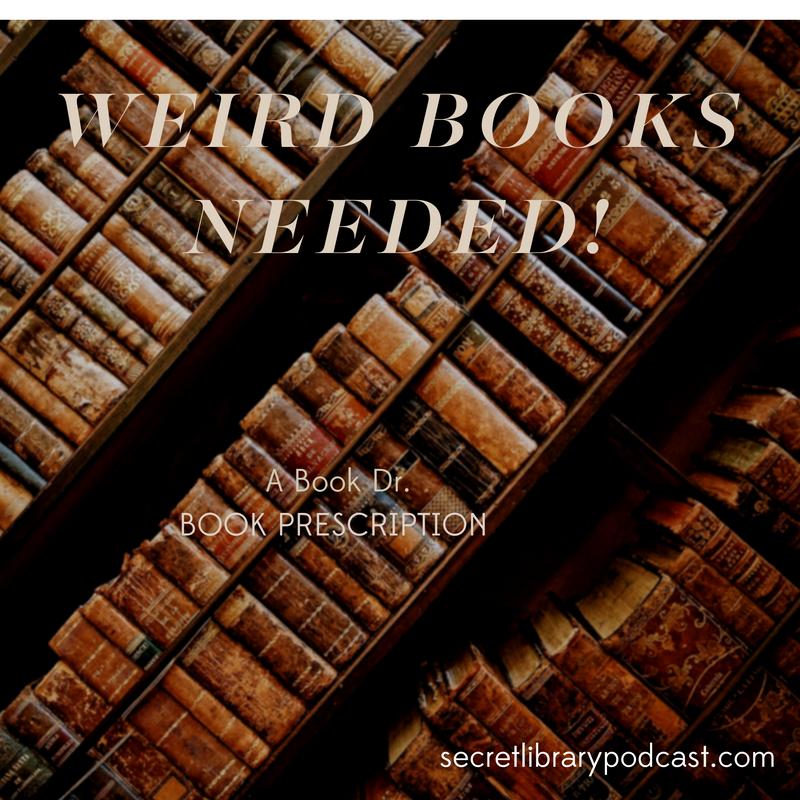 weird books | dear book dr. | carolinedonahue.com