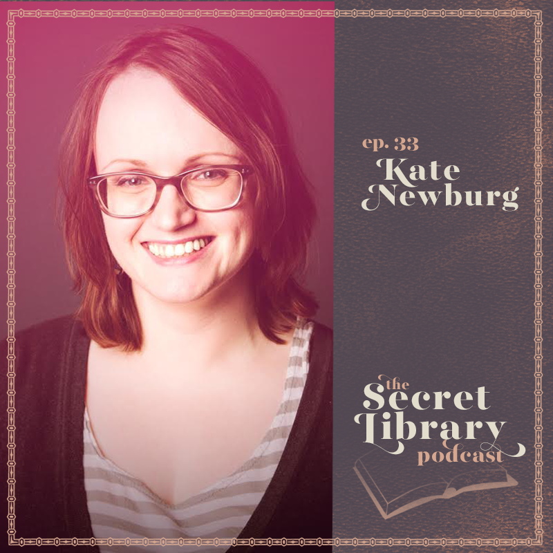 Kate Newburg | Digital Cover Design |SecretLibraryPodcast.com
