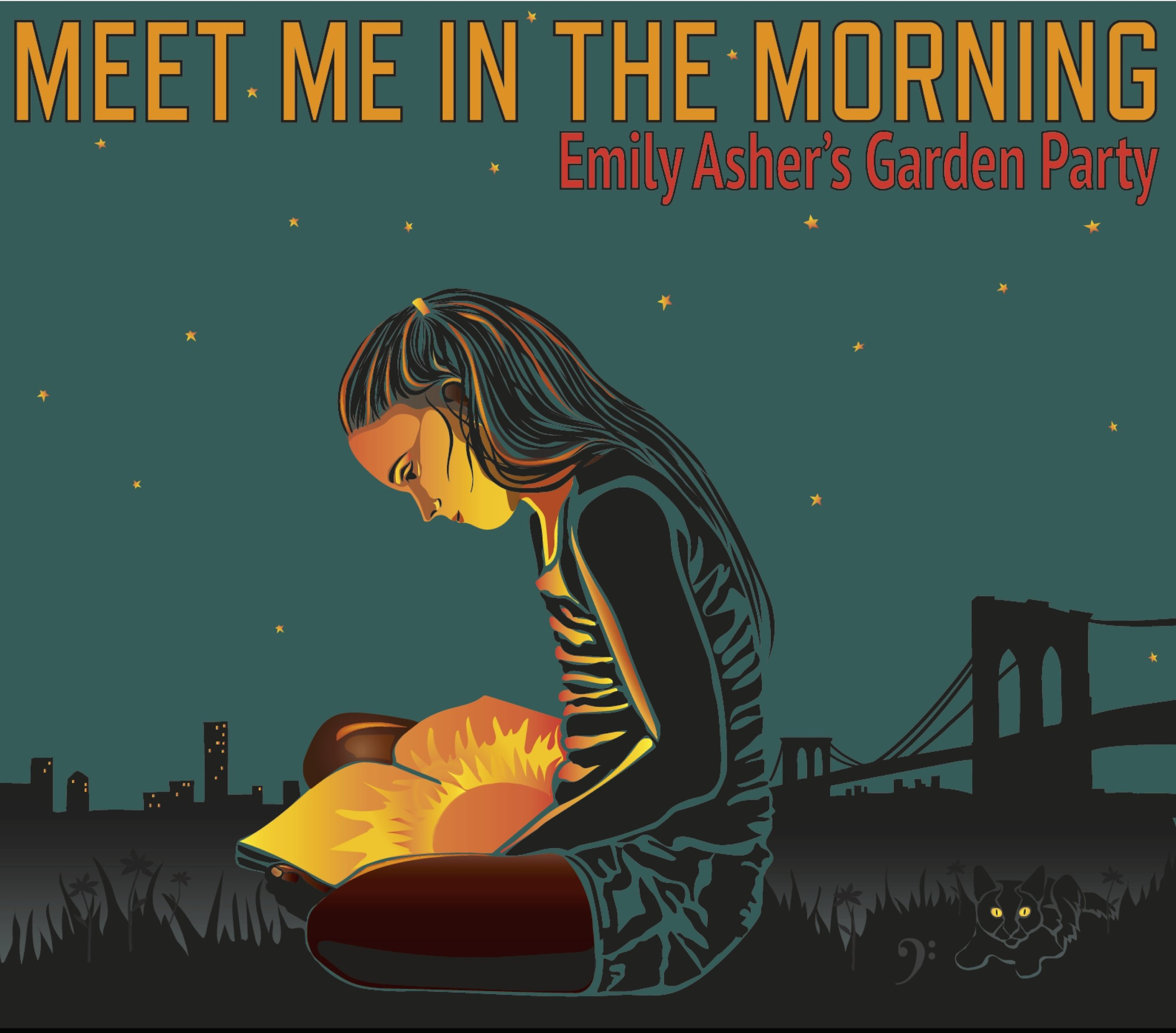 Meet Me in The Morning (2015)  Trombonist and vocalist Emily Asher knows how to throw a party and her third release, Meet Me in the Morning contains all the makings for such a shindig: boisterous, New Orleans-flavored jazz; a men's glee club vocal; energetic tambourine; good advice; danceable tempos; tinges of gospel; a touch of country; a snappy vocal duet; an effortlessly swinging rhythm section; and an air of wistfulness. It's music that's not easily categorized, but it's definitely evocative of a certain era, a time when music was made for dancing and when the listening public valued tuneful melodies, imaginative lyrics, skilled musicians and distinctive singers. This is timeless music and the members of Garden Party treat it with respect, as a living, breathing art form and not as a museum piece. -From liner notes by Ricky Riccardi   Out now on iTunes, Apple Music, Spotify, Amazon, Google Play, and more!