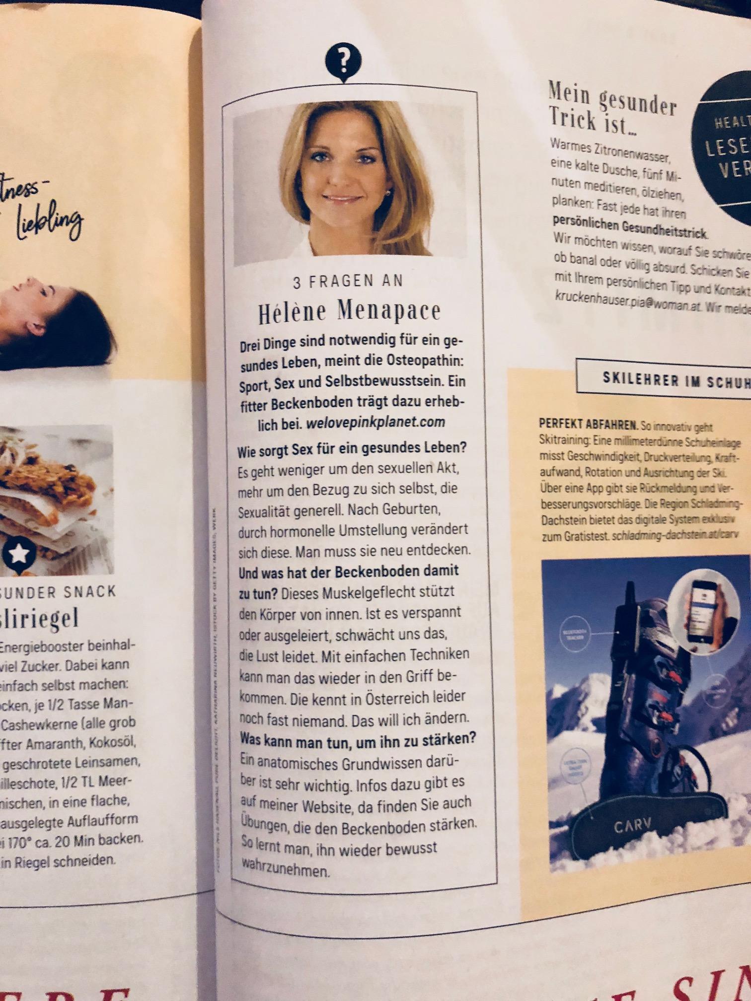 WOMAN Magazin - März 2018