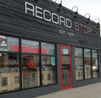 """LP + CD and the 12′ 45RPM record titled """"Walk-A-bout II""""is available at the 'Record Stop' in Patchogue!"""