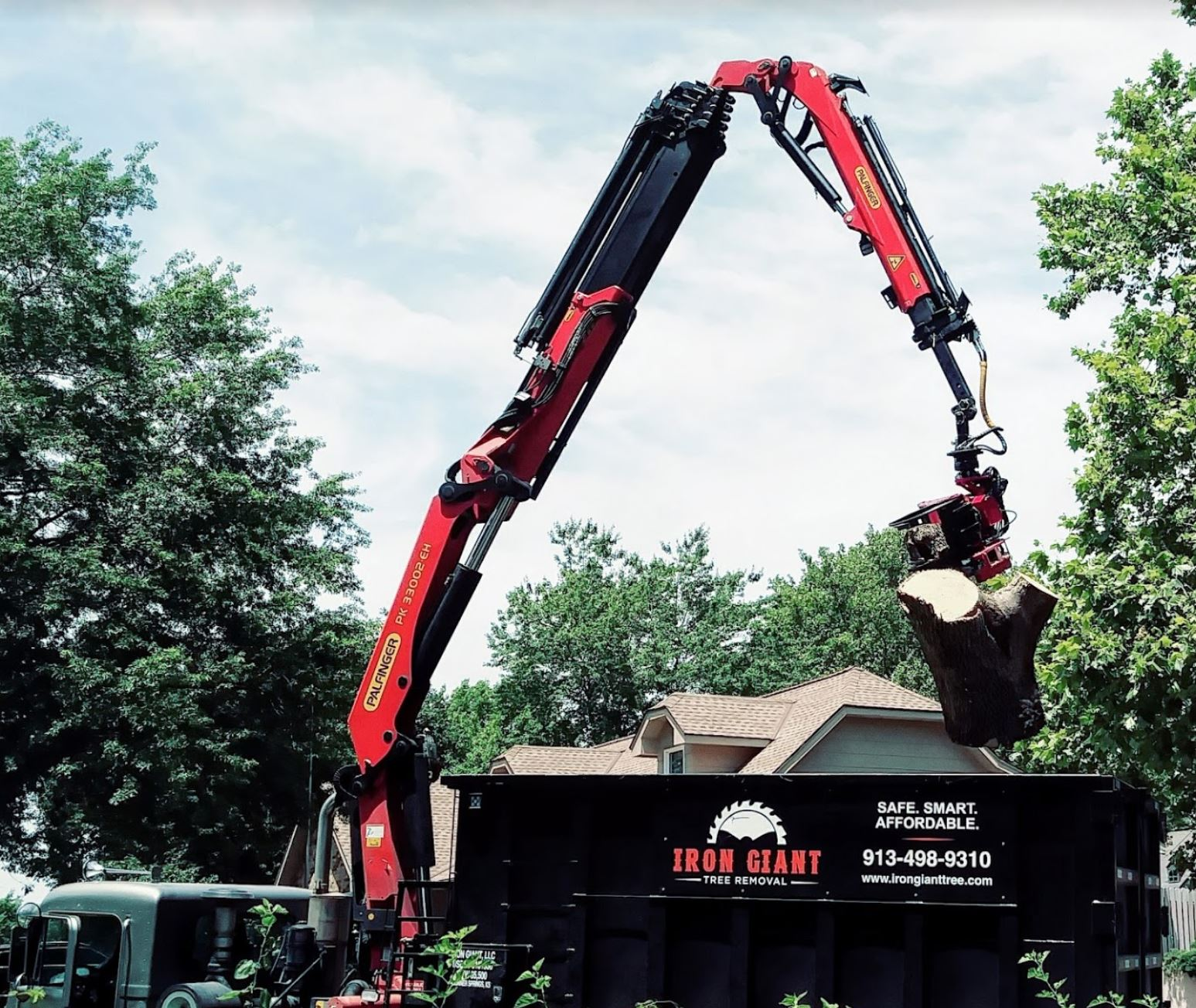 robotic tree removal is here.        |        Call us … and pull up a chair.