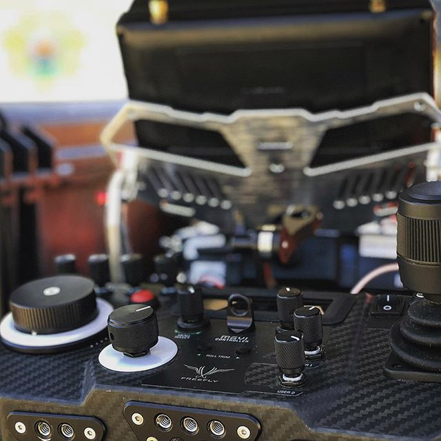 Drone camera oping with the movi controller. #gabedlp #setlife #movipro #alta8 #freeflysystems #aerialcinematography