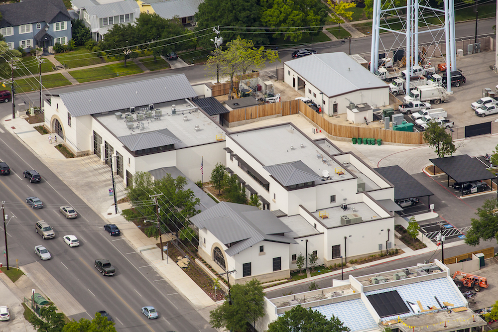 Alamo Heights Fire Station and City Offices