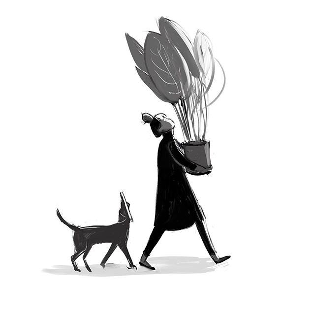 When you buy a new plant 🙃#sketch #sunday #stillachild