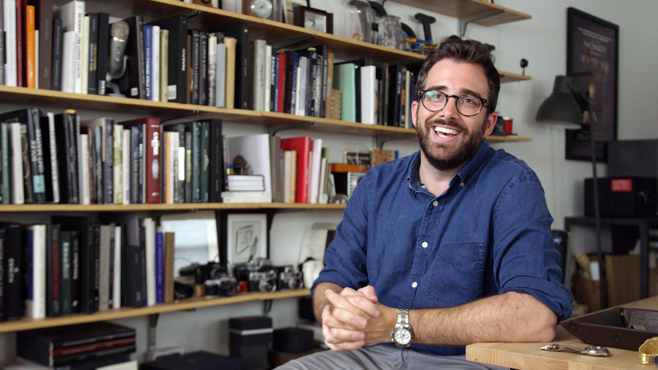 Ben Clymer, CEO &Founder of  Hodinkee.