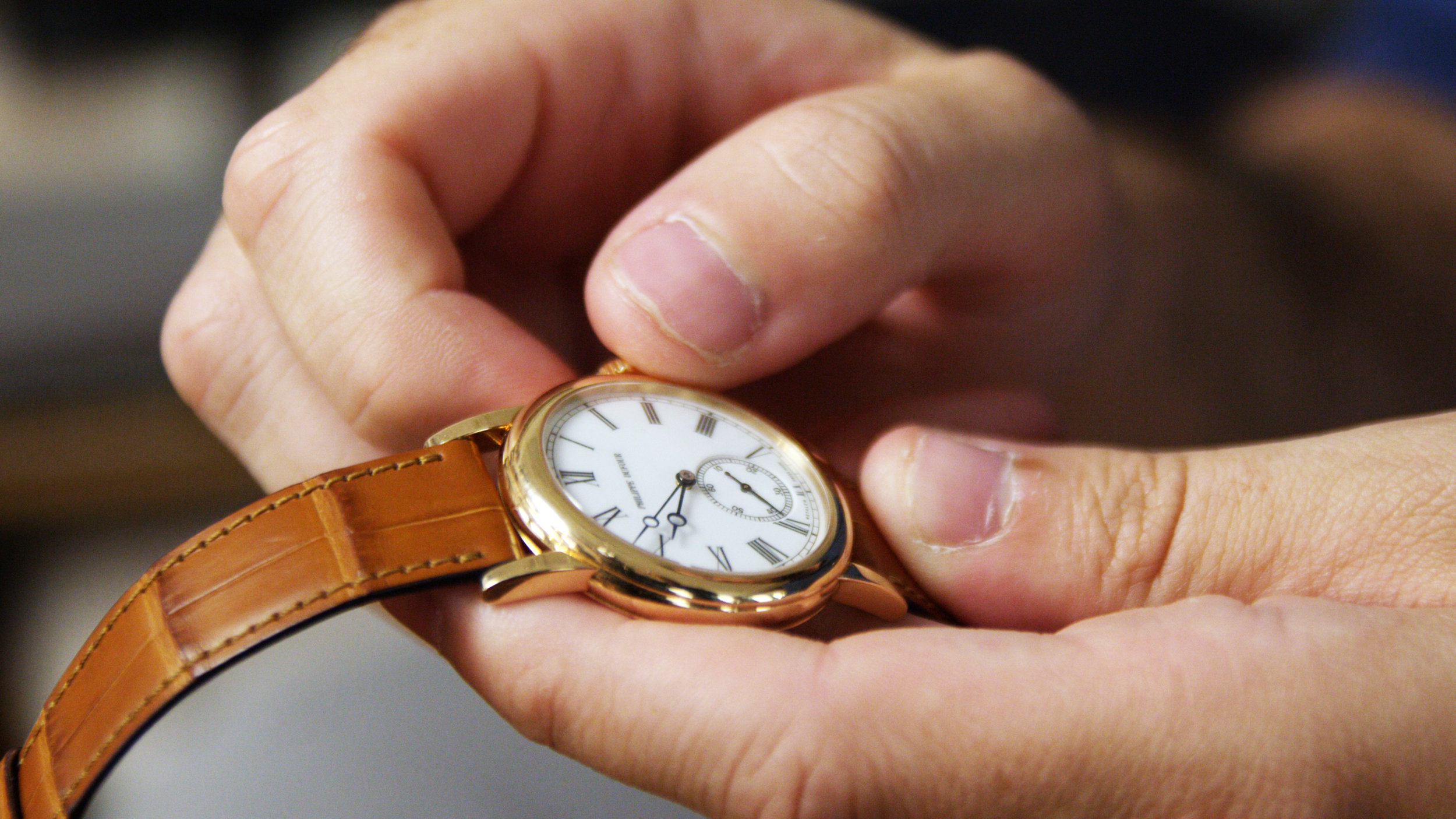 One of Ben's favorite watches is his Philippe Dufour Simplicity – a true a horological masterpiece.