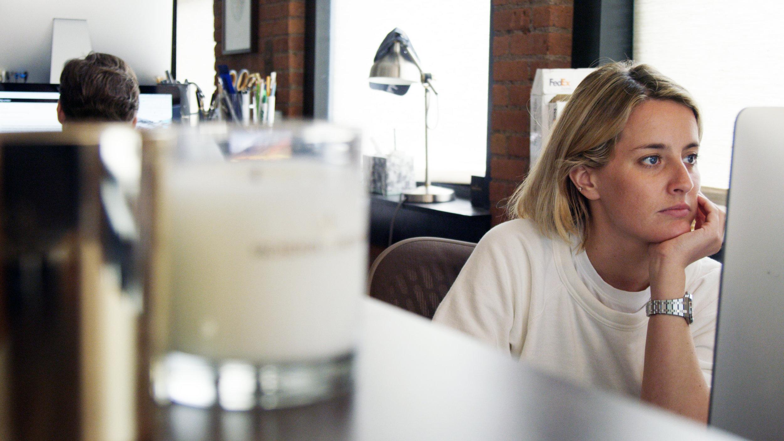 Hodinkee Editor Cara Barrett.