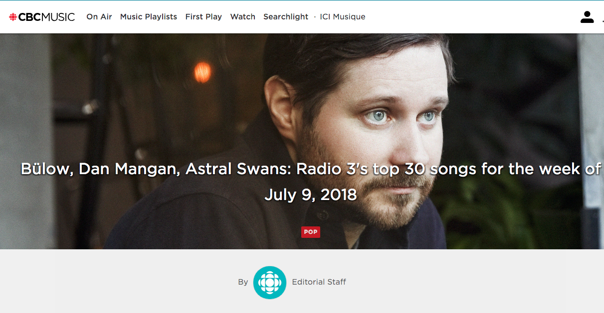 "CBC R3 ""Controls"" #1 - July 9, 2018 -Calgary's Astral Swans reach the top spot with"