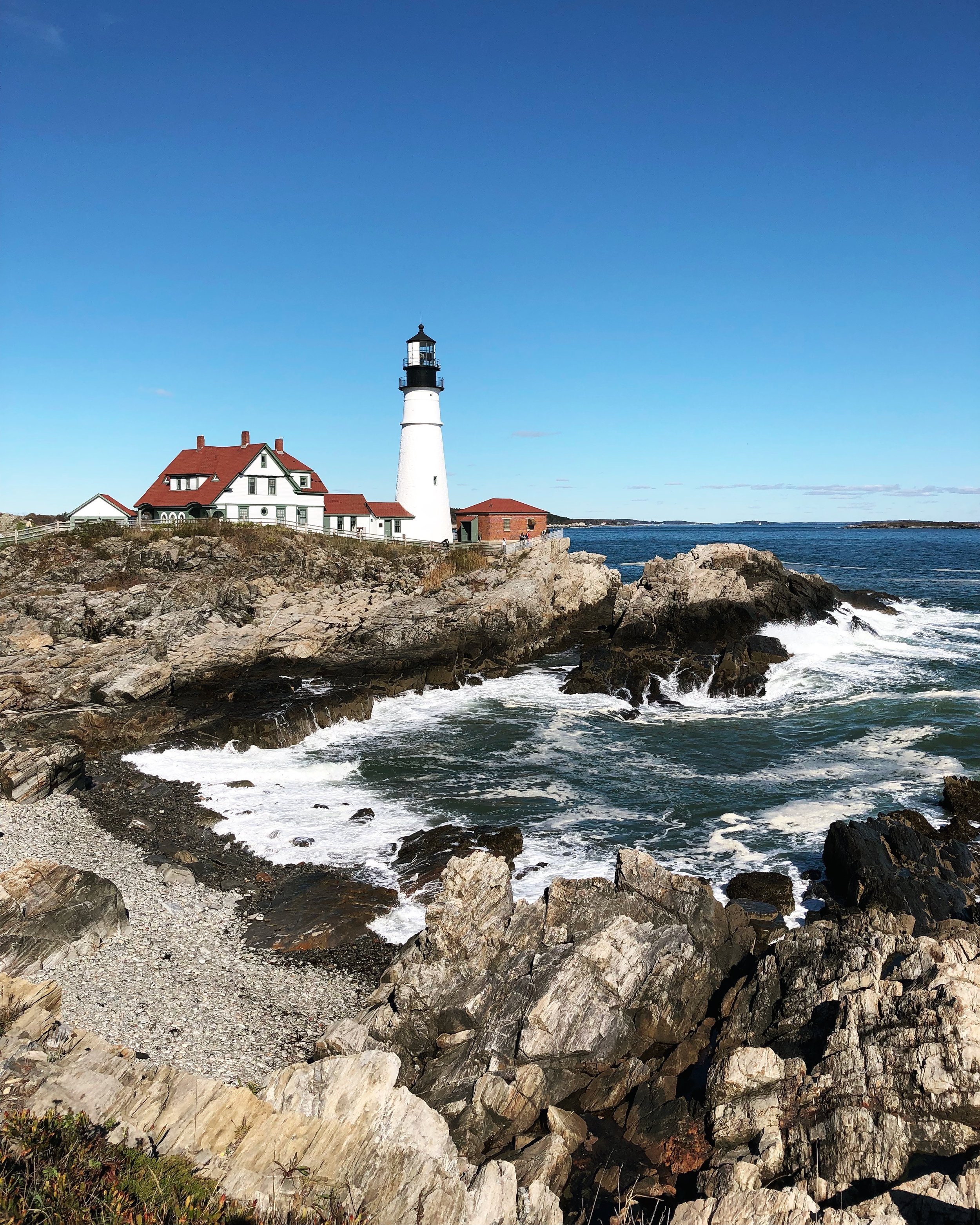The Portland Head Lighthouse in all its glory