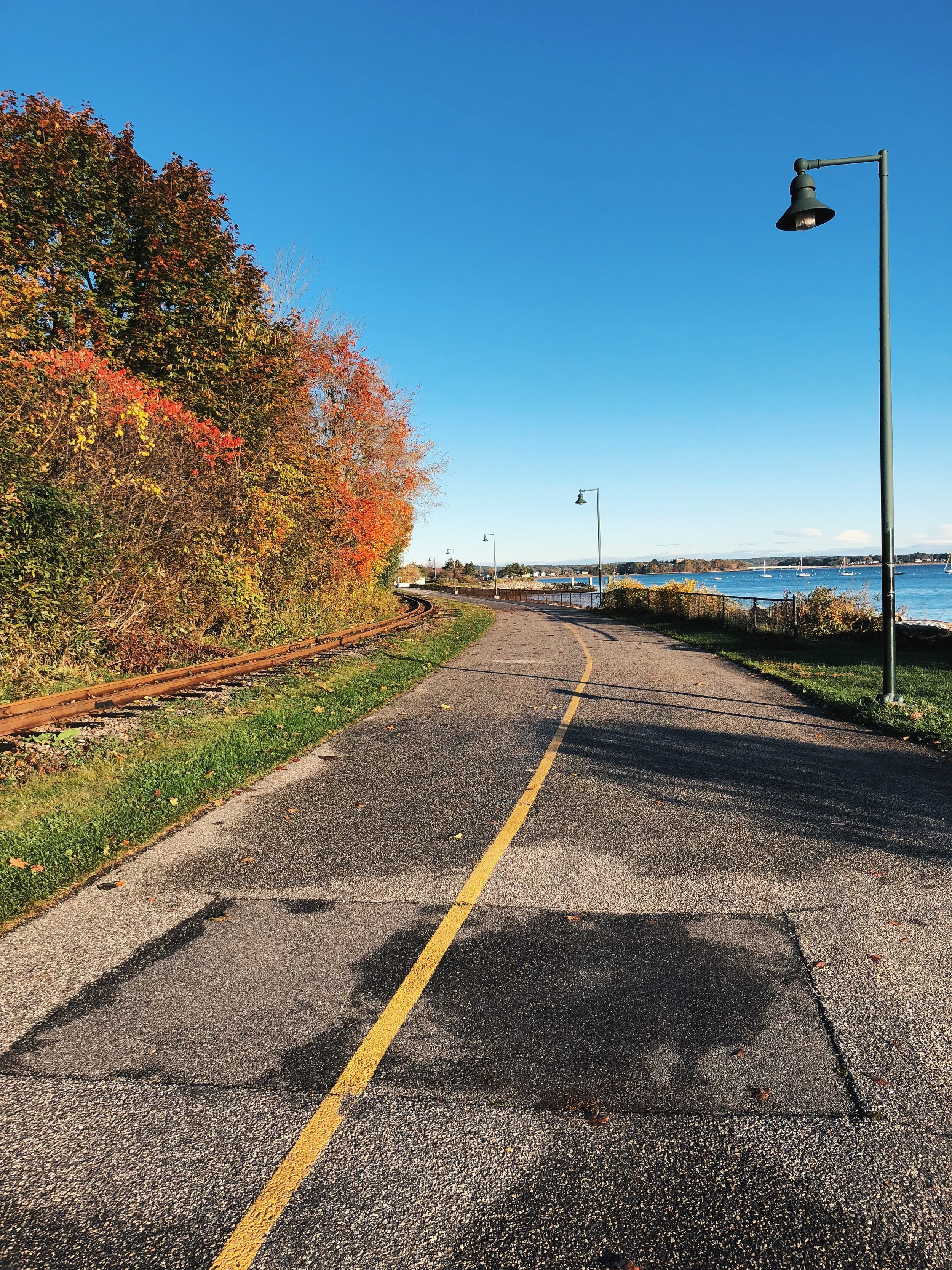 Trail in the Eastern Promenade