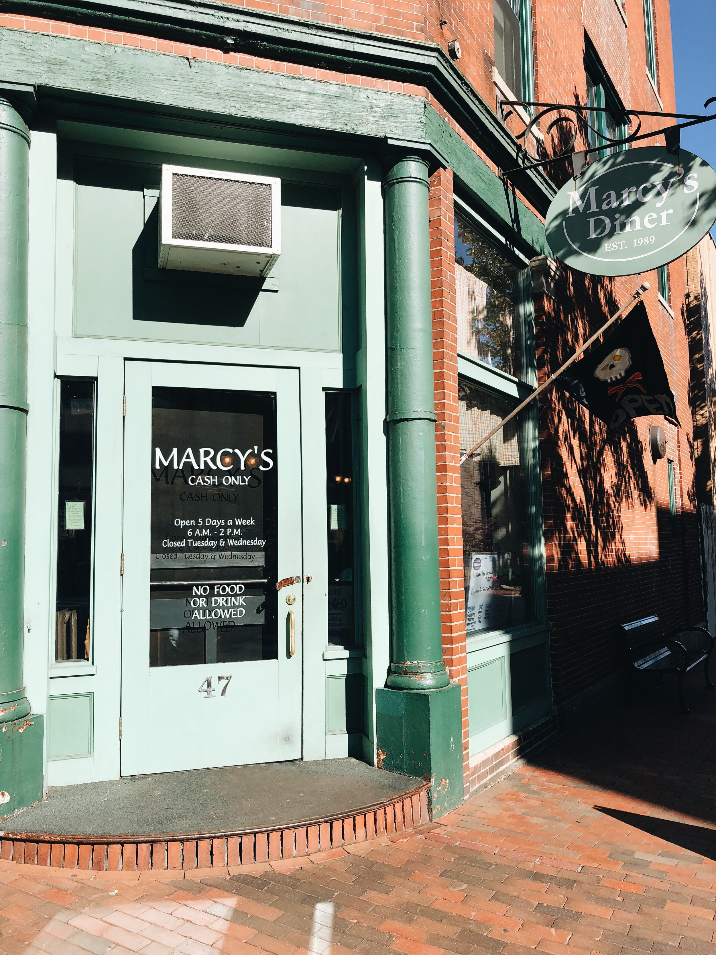Exterior shot of Marcy's