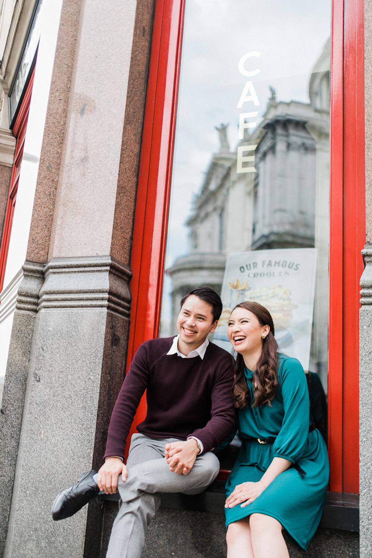 LONDON: JAMES & SAB