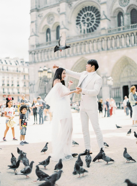 PARIS: ROBBY & MAXENE