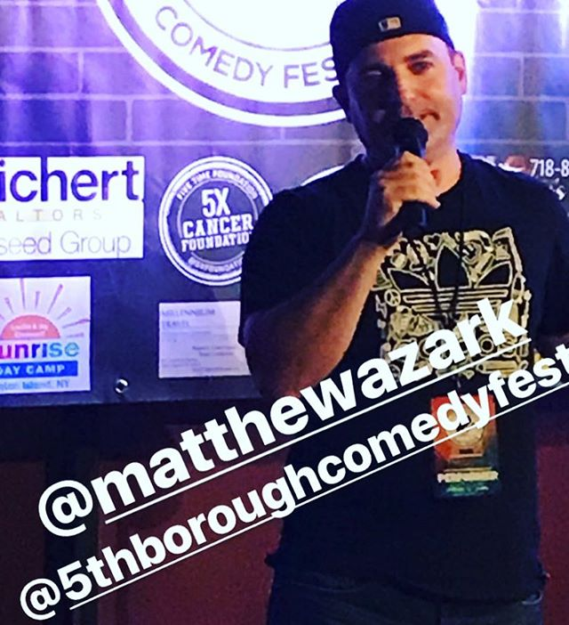 Happy to be a part of the #5thboroughcomedyfestival !  Big thanks to @thekursh for getting me up!!!