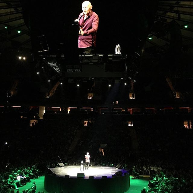 @wilfredburr crushing it at #MSG #Comedy
