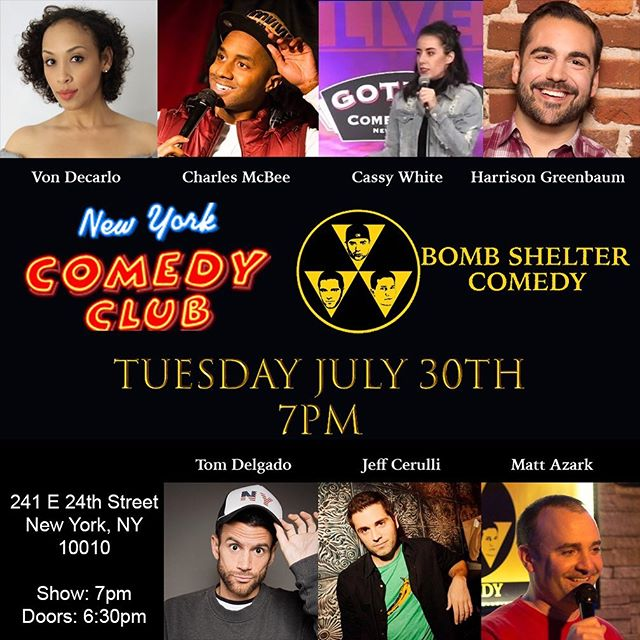 It's going down tonight at 7pm at @nycomedyclub !  Come party with us...