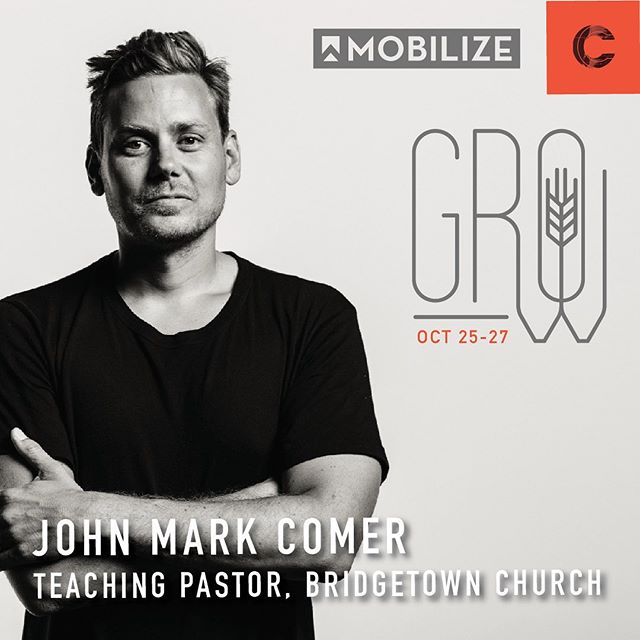 We have an incredible opportunity to watch a recorded Q&A between Bo Noonan and special guest, John Mark Comer, at Mobilize next month!! You will NOT want to miss this interview as John Mark Comer helps us better understand the challenges of following Jesus in this cultural moment as well as inspire us to press on to building beautiful churches. Early bird (NW/NE) and standard (MW) registration deadlines are just a few days away, so sign up today! To learn more about John Mark Comer: check out the link in our bio! #mobilizeusa #grow #confluencechurches #signupnow
