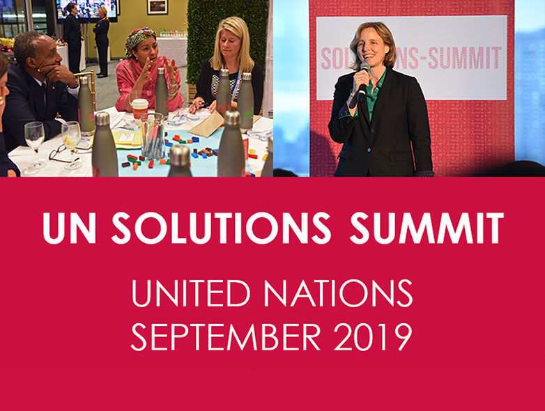 UN Solutions Summit - UN Headquarters, NYC — September 2019