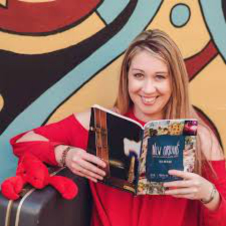 Amber Laviolette - The Traveling Crawfish   Culture and Photo Contributor