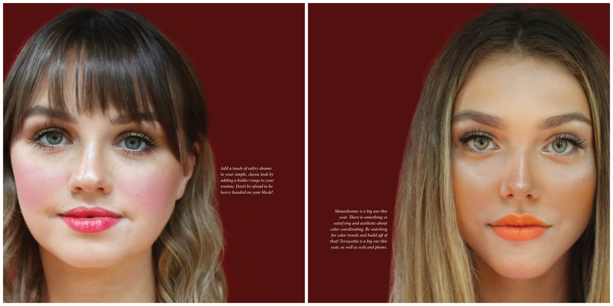 _Alexis Jester Runway Makeup Modern Grace Magazine pg 4,5.jpg