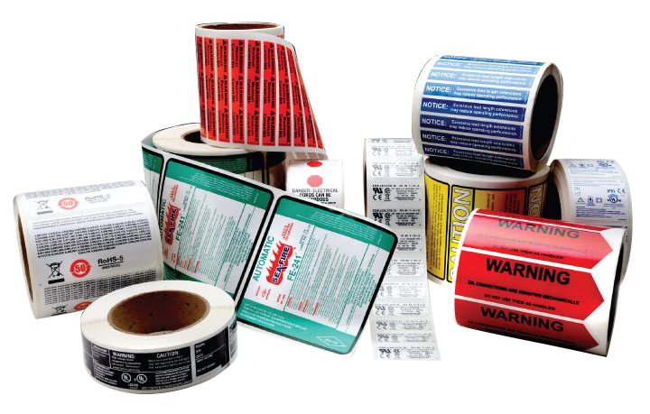 Industrial Roll Labels