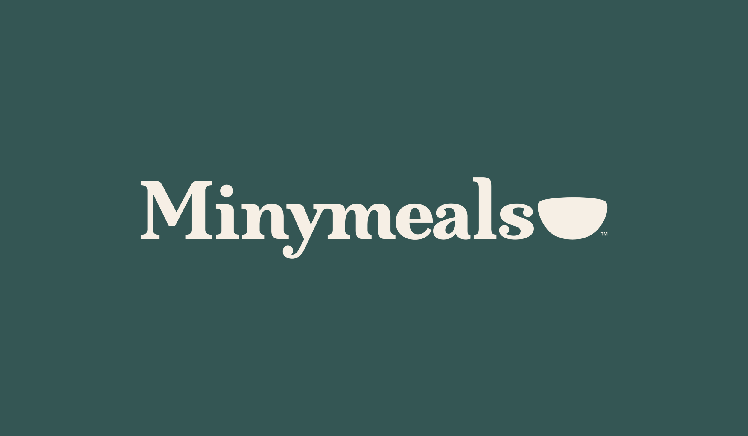 Minymeals Logo with Green Background
