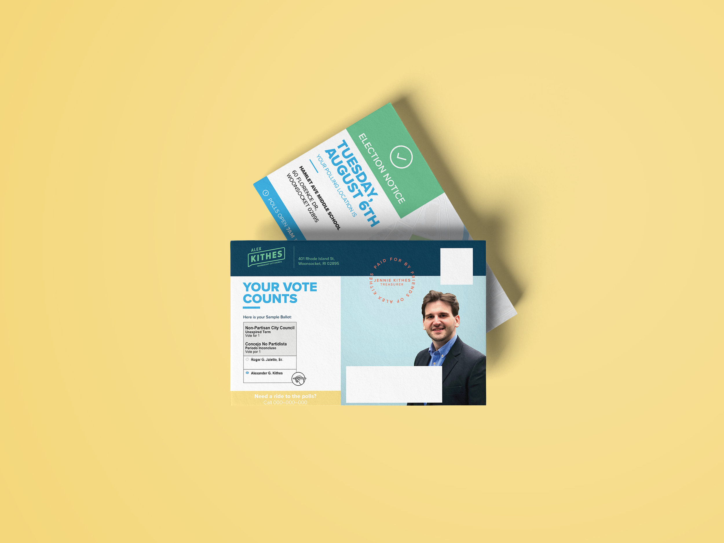 Kithes Mailer Front & Back