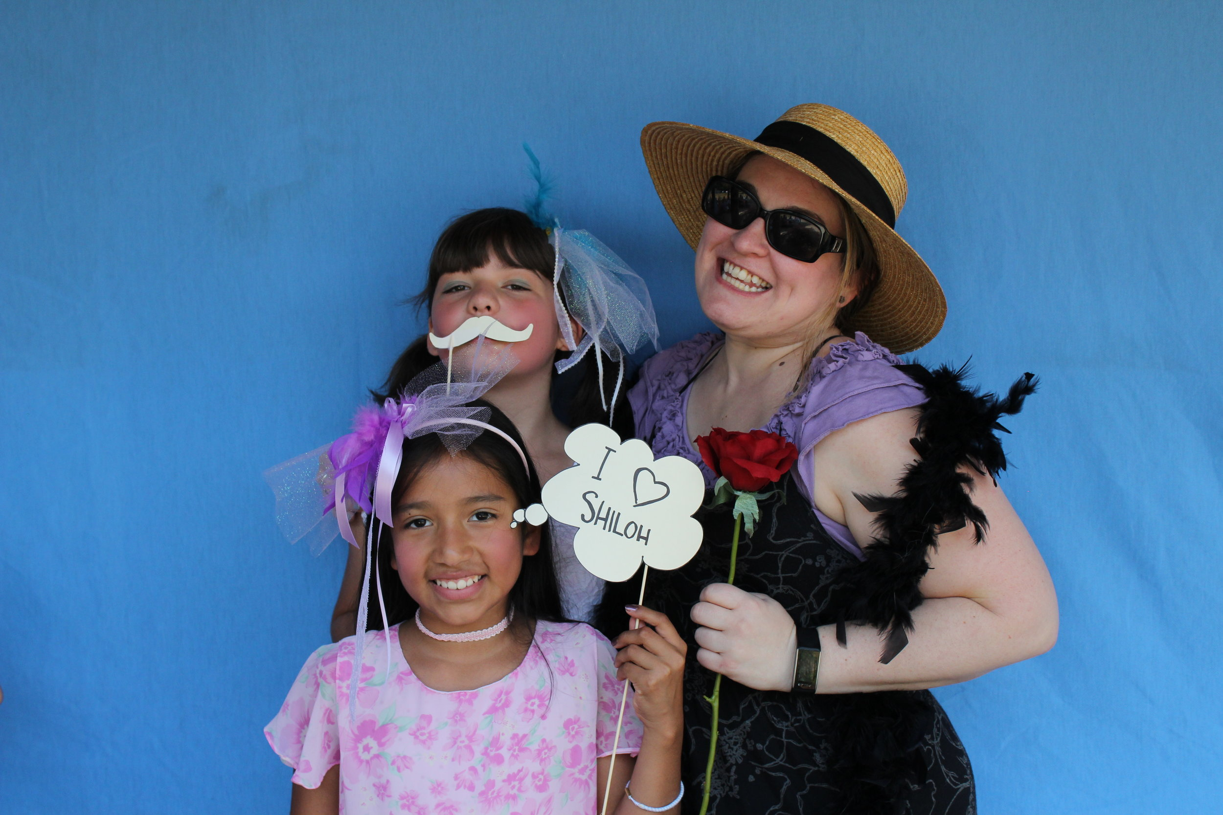 Shiloh Bible Camp photo booth