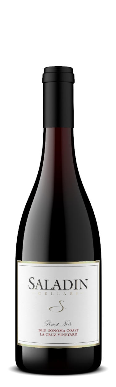 2013 Pinot Noir La Cruz Vineyard Sonoma Coast -  100 cases produced      Bottling Date: March 2015      Alcohol: 14.5%      Appellation: Sonoma Coast, Petaluma Gap      Cépage: 100% Pinot Noir (Dijon 777, 123 Pommard Clones)      Aging: 30% New French Oak Barrels, 70% Used French Oak Barrels for 18 months      Price: $50.00