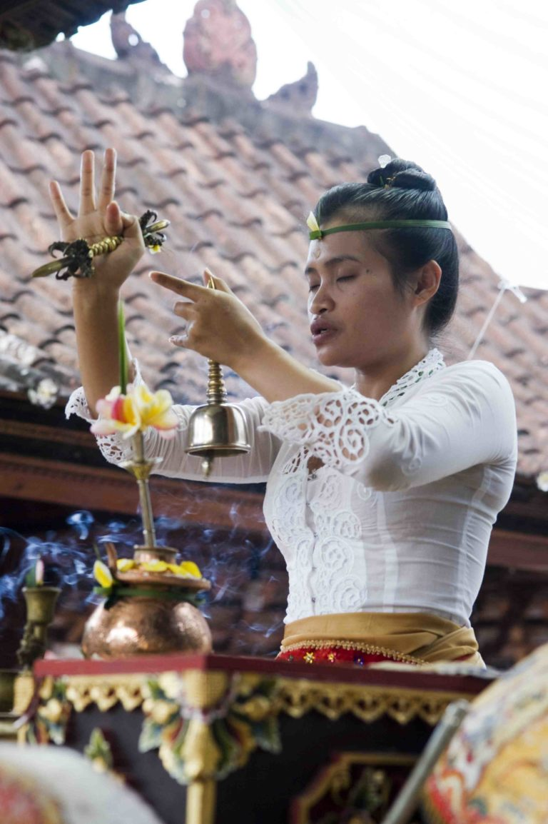 HEALING… - The retreat includes two sacred Balinese healing ceremonies. First, a purification ceremony at the Sacred Water Temple, Tirta Empul, outside of Ubud. This includes a full immersion in the pools to cleanse & purify, with guidance and explanation by our Balinese healer. The purification is followed by a meditation and blessing from the Temple Priest.The Agni Hotra is a mantra-infused fire ceremony beautifully set up and overseen by two Balinese priests, and a healer. This ceremony has an emphasis on releasing to creating a clear future. This is a Balinese Hindu interpretation of the Indian equivalent. The healing ceremonies will be paired with practices led by Samantha & Kat to help you let go & set intentions for your future.