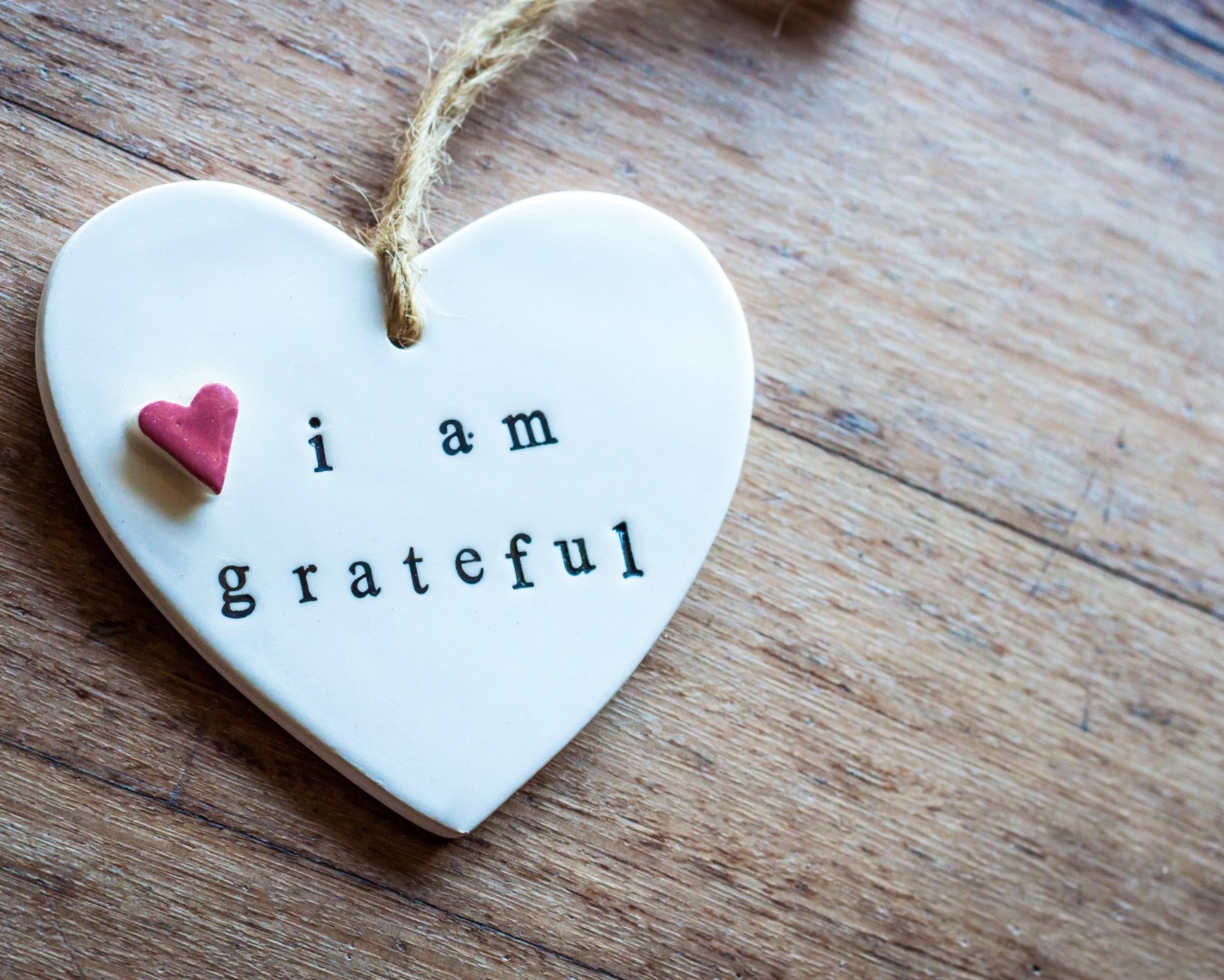 How does it feel to give and receive gratitude? -