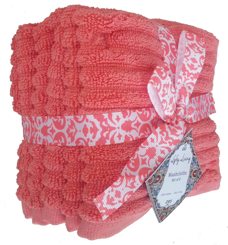 Textured Washcloth Set