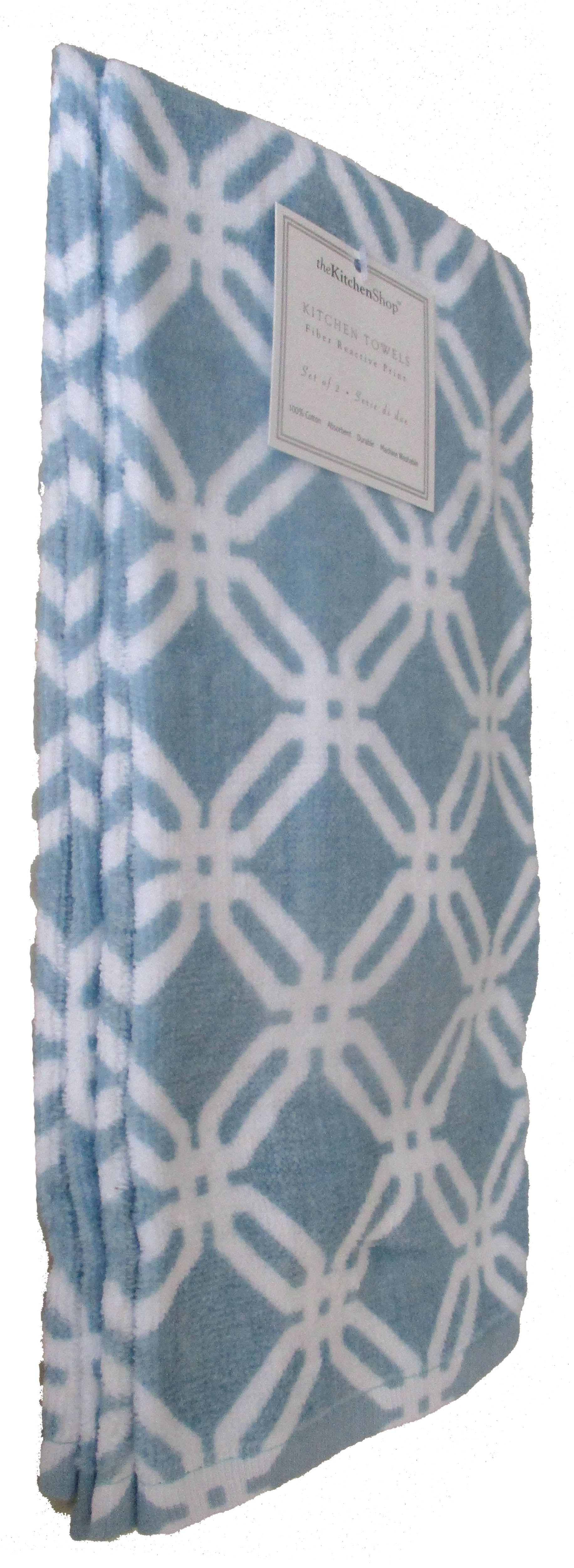 Print Geo Kitchen Towels
