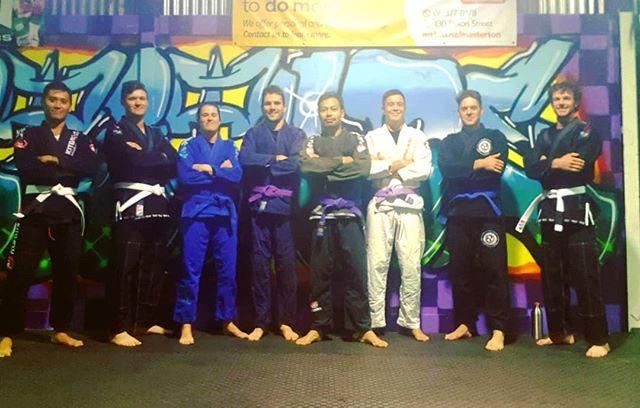 Solid crew #masterton #wairarapa #bjj #bjjnz #jiujitsu #squadgoals @thefortitudegym