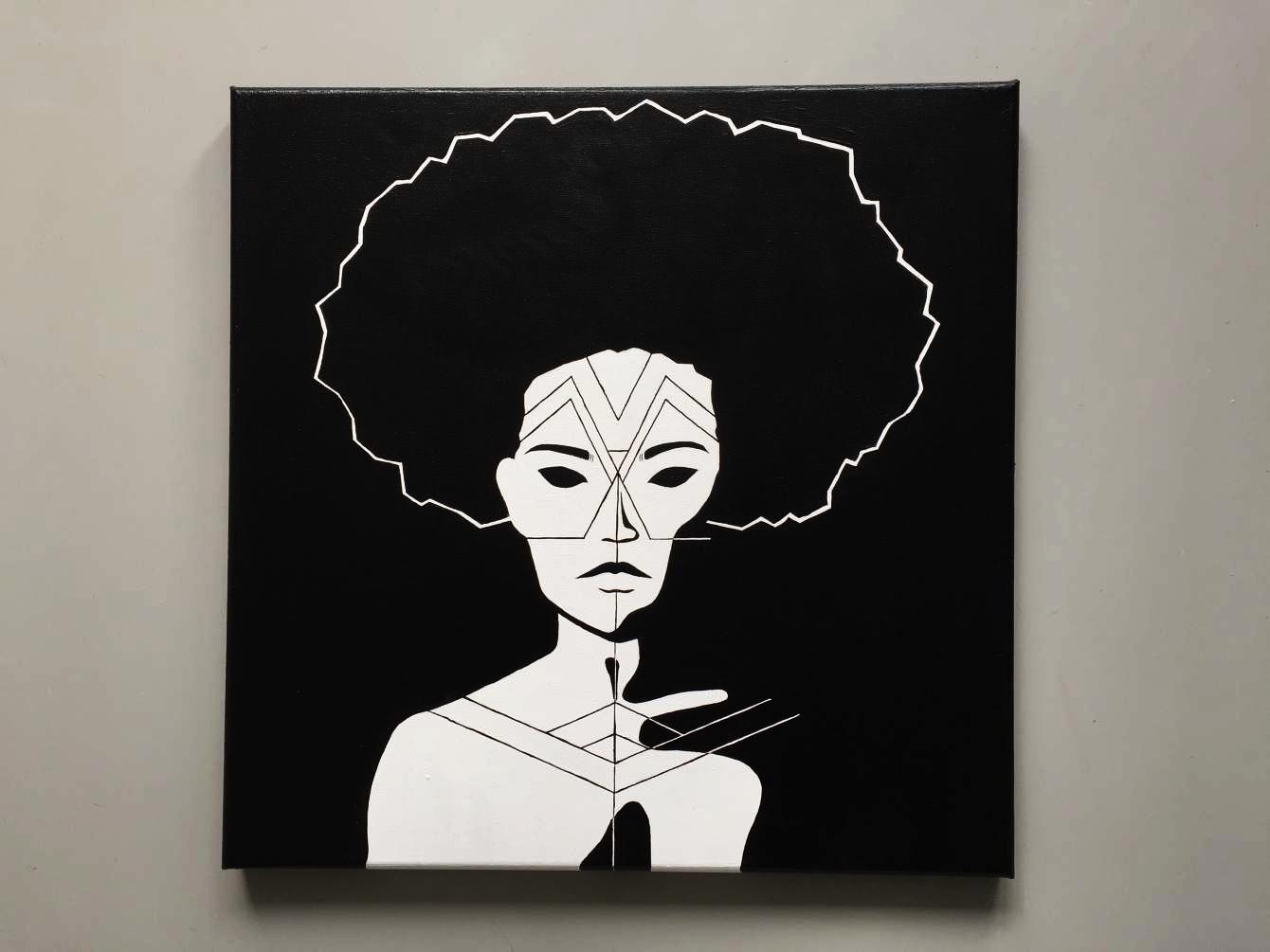 Geometric Face Painting I