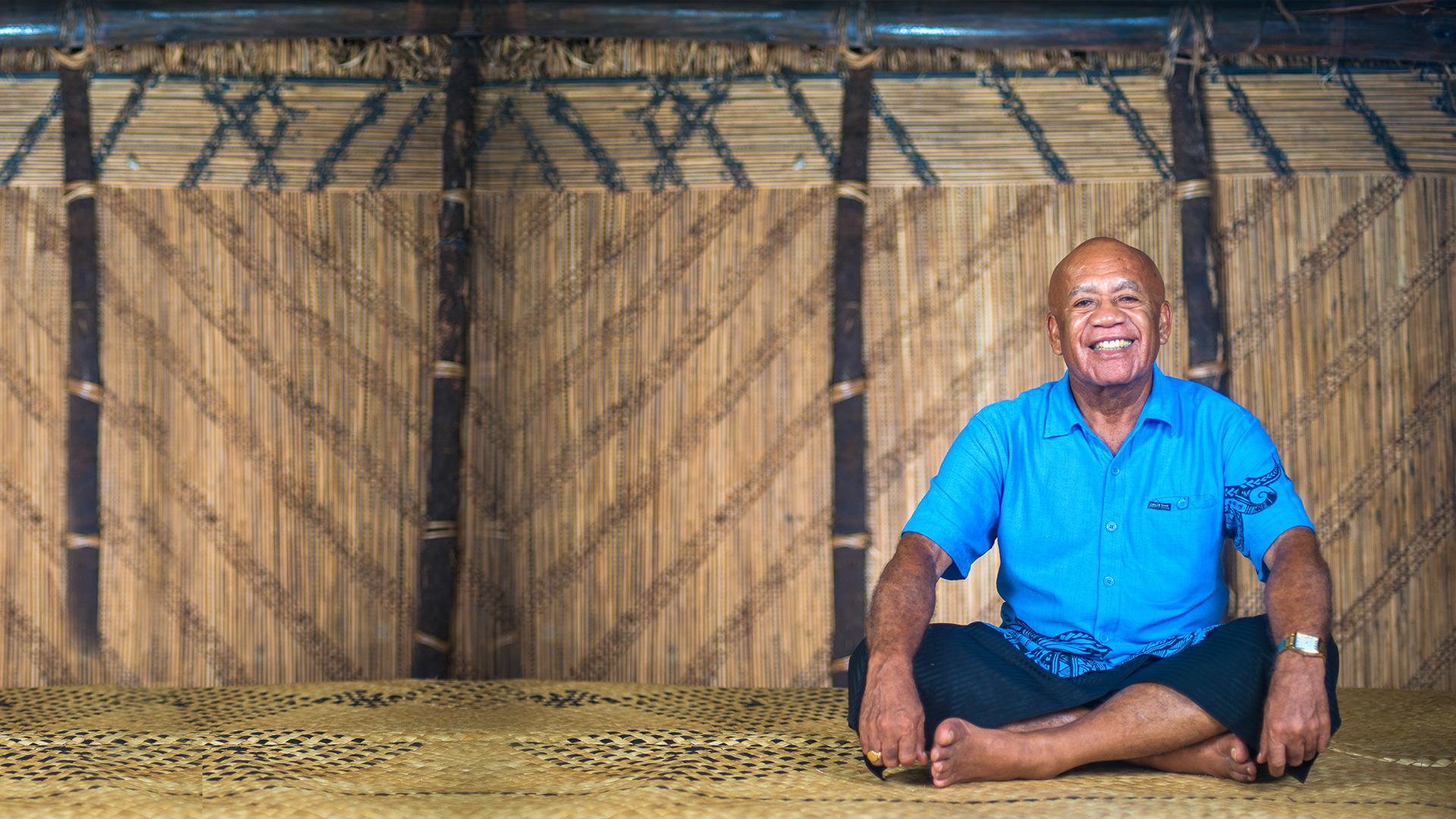 """""""The fish is part of our culture.""""   Ratu Filimoni Ralogaivau"""
