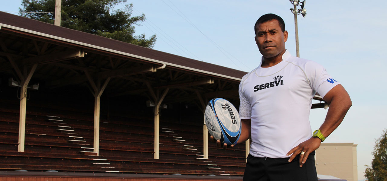 """""""I don't want to be part of the generation that ate it all.""""   Waisale Serevi, King of Sevens"""