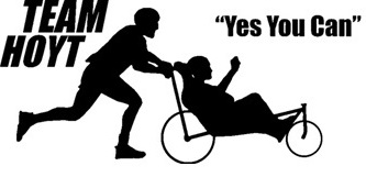 Providing a specialist sporting wheelchair for Benjamin to push his mother for an entire half marathon. - http://www.teamhoyt.com/