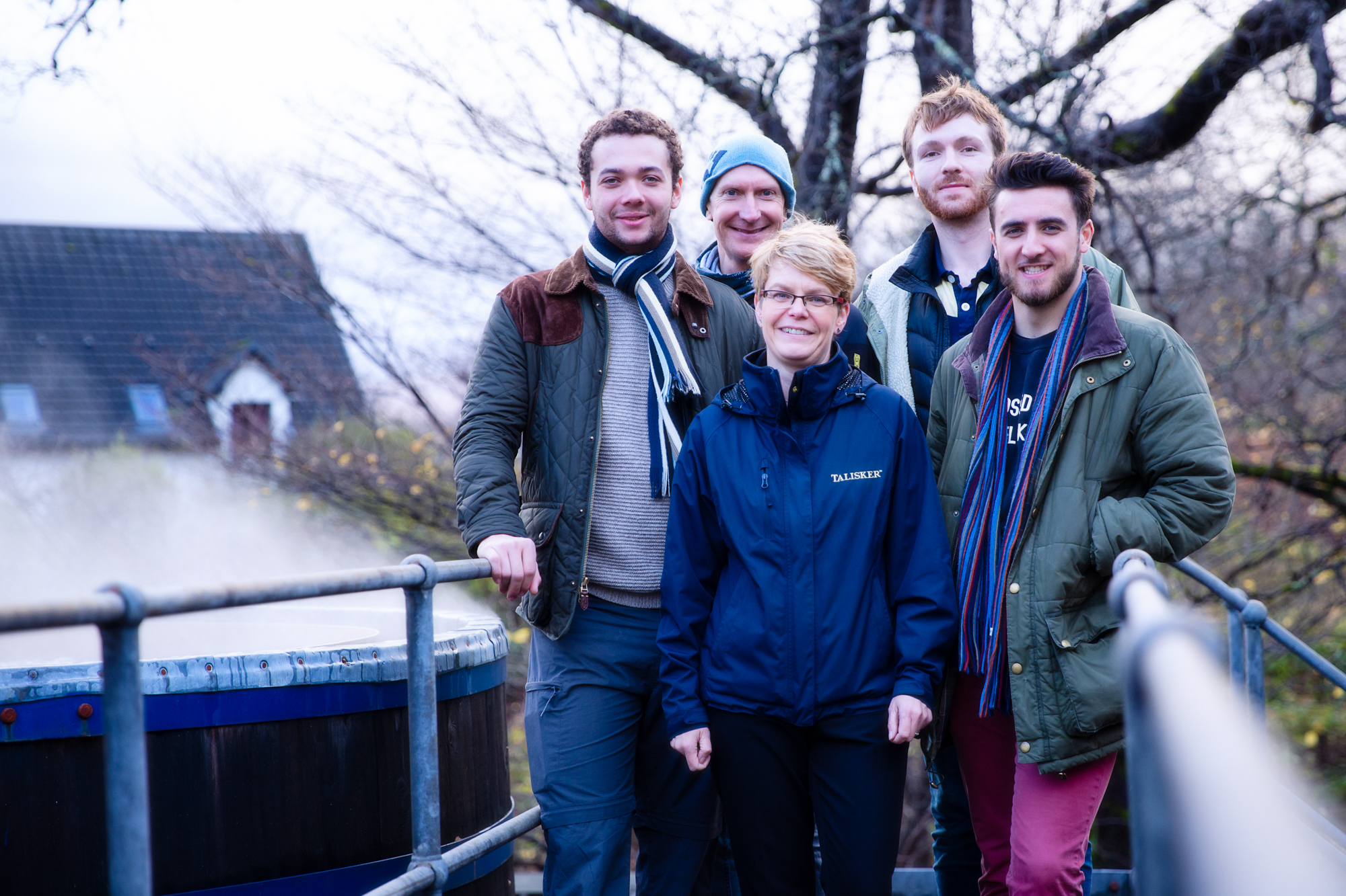 A huge thanks to Lesley Taylor at Talisker for hosting our team on a private, and very informative, tour around the distillery. She says Atlantic Discovery is her top favourite team!
