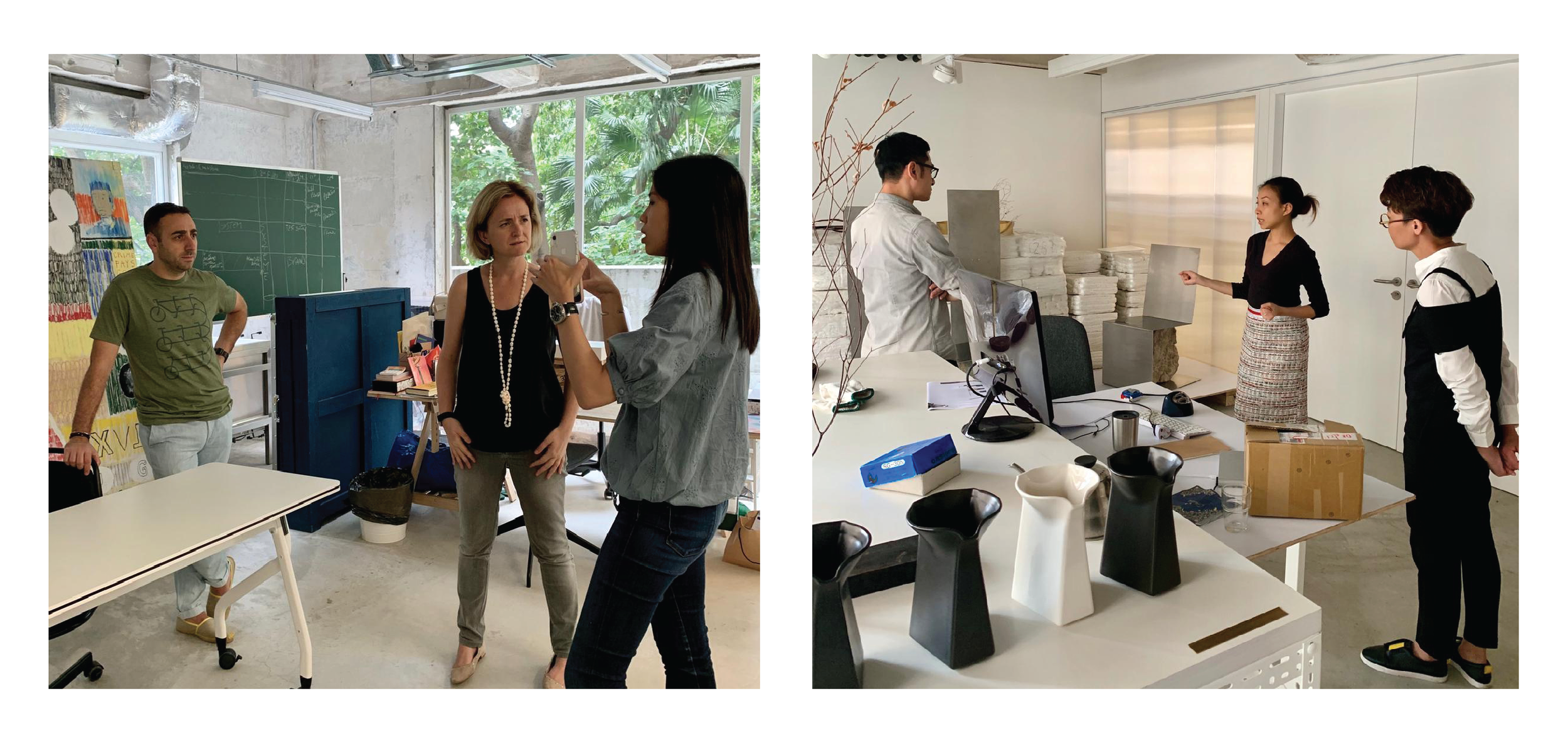 HART team (Jeannie Wu and Dorcas Leung) enjoyed a refreshing Saturday afternoon in exploring more about HART Haus with our guests - not only did they learn more about HART, they also helped imagine, construct and develop this creative space. HART團隊 (胡津如及梁長羚) 與參加活動的朋友享受了一個美好的星期六下午。參加者透過參觀工作室更深入了解 HART,繼而共同想像、建構並發展這個創意空間。