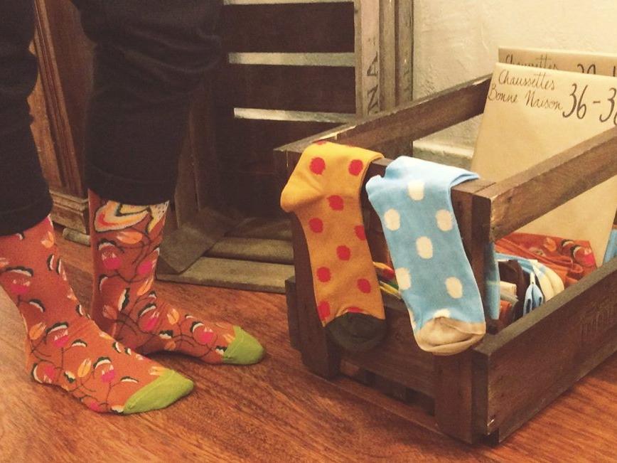 Les créateurs des chaussettes Bonne Maison invente à chaque saison de nouvelles couleurs et de nouveaux motifs | chaque collection est unique.