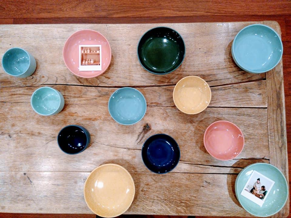 Pour une table haute en couleurs !