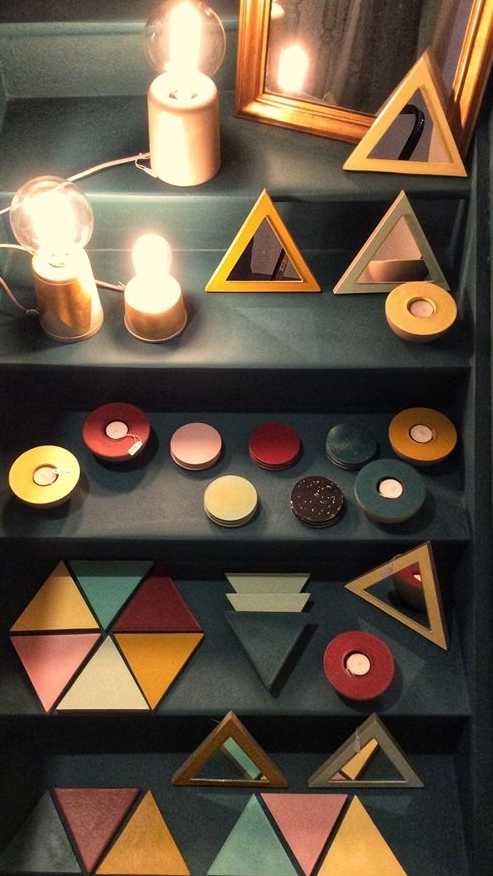 La rencontre des formes géométriques et de la couleur pour une déco atypique