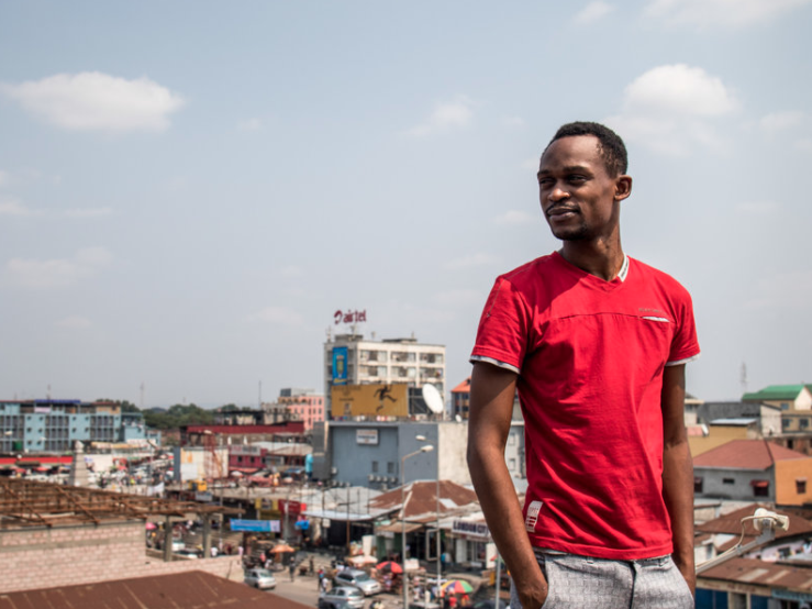 GAY, OUT AND ON THE AIRWAVES IN KINSHASA